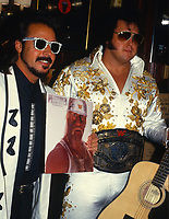 Jimmy Hart & The Honk Tonk Man 1987<br /> Photo By John Barrett/PHOTOlink