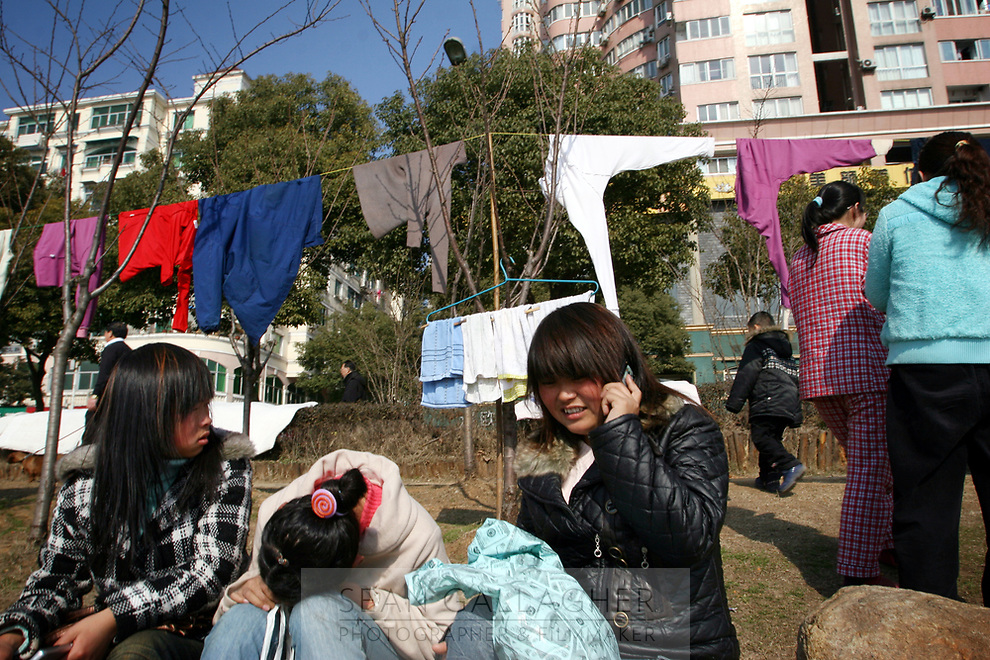 CHINA. Jiangxi Province. Jiujiang. Scene in a park. Jiujiang is a city of 4.6 million people, located on the southern shore of the Yangtze River.  2008