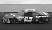 Rob Moroso competes in the Busch Series race at Darlington Raceway in Darlington, SC on March 19, 1988. (Photo by Brian Cleary/www.bcpix.com)