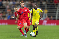 SAINT PAUL, MN - JUNE 18: Djordje Mihailovic of the United States during a 2019 CONCACAF Gold Cup group D match between the United States and Guyana on June 18, 2019 at Allianz Field in Saint Paul, Minnesota.