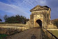 Europe/France/Poitou-Charentes/17/Charente-Maritime/Ile de Ré/Saint-Martin-de-Ré: Porte des Campani (XVIIème)