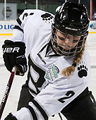 Maegan Sheehan (Bowdoin - 2) - The Babson College Polar Bears defeated the Connecticut College Camels 3-0 on Thursday, January 12, 2017, at Fenway Park in Boston, Massachusetts.
