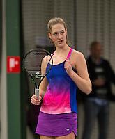Rotterdam, The Netherlands, March 20, 2016,  TV Victoria, NOJK 14/18 years, Babette Burgersdijk (NED)<br /> Photo: Tennisimages/Henk Koster