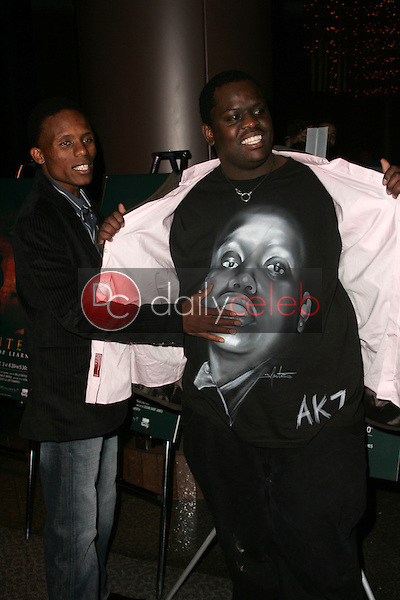 """Victor Mohale and Archie Khambula<br />at the Los Angeles Premiere of """"Ithuteng"""". Director's Guild of America, Los Angeles, CA. 11-15-06<br />Dave Edwards/DailyCeleb.com 818-249-4998"""