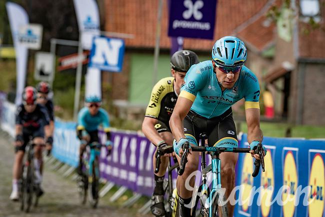 up the Koppenberg<br /> <br /> 104th Ronde van Vlaanderen 2020 (1.UWT)<br /> 1 day race from Antwerpen to Oudenaarde (BEL/243km) <br /> <br /> ©kramon