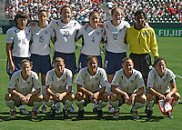 USA Women's Team, USA vs. Canada at the Third Place Match of the FIFA Women's World Cup USA 2003. USA 3, Canada, 1. (October 11, 2003). .