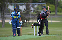 Action from the Ewen Chatfield Trophy Wellington premier men's division one cricket one-day match between Taita and Johnsonville at Fraser Park in Lower Hutt, New Zealand on Saturday, 24 October 2020. Photo: Dave Lintott / lintottphoto.co.nz
