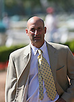 05 July 2009: Trainer Tom Albertrani before the American Oaks (GI) at Hollywood Park in Inglewood, CA .