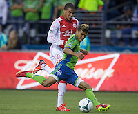 Seattle Sounders vs. Portland Timbers, August 25, 2013