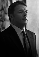 The Senator of the Italian Republic Matteo Renzi,<br /> At the center of the Italian government's crisis of recent days<br /> photo year 2020 By Stefano Spaziani