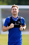 St Johnstone Training...  McDiarmid Park<br />Liam Craig pictured during training ahead of Saturday's opening league game of the season at Ross County.<br />Picture by Graeme Hart.<br />Copyright Perthshire Picture Agency<br />Tel: 01738 623350  Mobile: 07990 594431