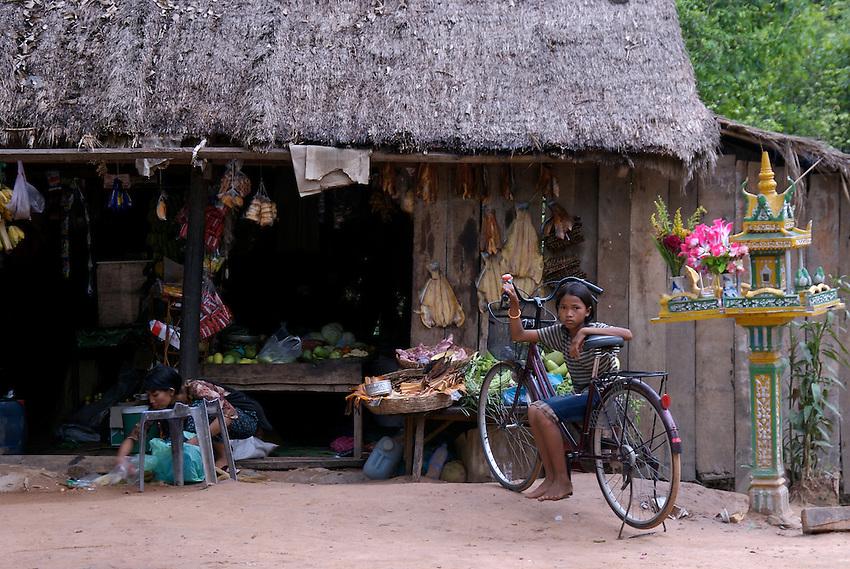 Siam Reap, Cambodia, small store