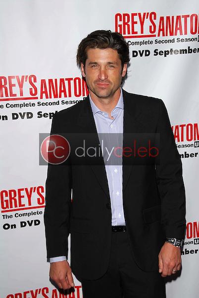 "Patrick Dempsey<br /> At the ""Grey's Anatomy"" Season 2 DVD Launch Party. Social, Hollywood, CA. 09-05-06<br /> David Edwards/DailyCeleb.Com 818-249-4998"