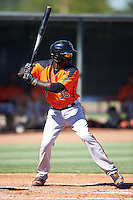 San Francisco Giants Jacob Heyward (35) during an Instructional League game against the Los Angeles Angels of Anaheim on October 13, 2016 at the Tempe Diablo Stadium Complex in Tempe, Arizona.  (Mike Janes/Four Seam Images)