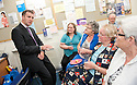 "Michael Matheson MSP, Minister for Public Health meets carers at the launch of ""Supporting Carers in primary Care - Resource Pack"" at Slamannan Health Centre."