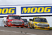 NASCAR Camping World Truck Series<br /> Chevrolet Silverado 250<br /> Canadian Tire Motorsport Park<br /> Bowmanville, ON CAN<br /> Sunday 3 September 2017<br /> Cody Coughlin, JEGS Toyota Tundra and Austin Self, Don't Mess With Texas\B&D Industries Toyota Tundra<br /> World Copyright: Russell LaBounty<br /> LAT Images