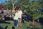 David & Japanese Woman Who Was On Rafting Trip Down The Zambezi At Victoria Falls