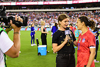 PHILADELPHIA, PA - AUGUST 29: Carli Lloyd #10 of the United States during a game between Portugal and USWNT at Lincoln Financial Field on August 29, 2019 in Philadelphia, PA.