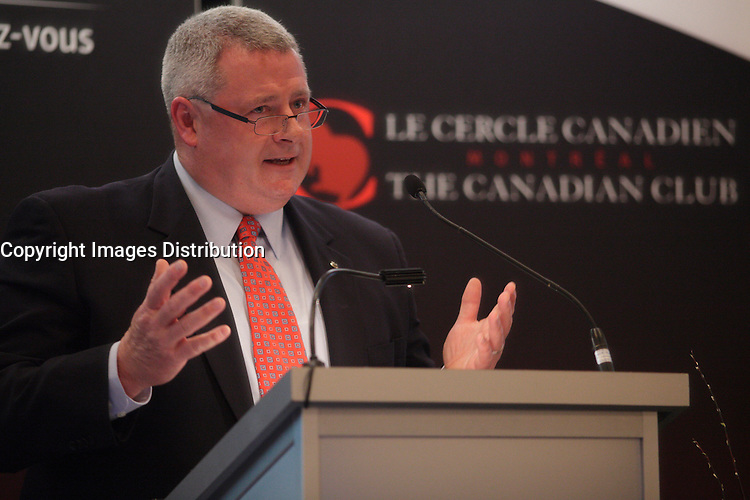 April 15, 2013 - Montreal, Quebec,  CANADA -  Ronnie Miller, President & CEO of Roche Canada.<br /> <br /> Roche's presence in Montreal goes back more than 80 years, since Hoffmann-La Roche was incorporated here in 1931. Today, Roche's footprint in Montreal includes the partnership with the Montreal Heart Institute as Roche's global hub of translational medicine in cardiovascular medicine. This affiliation demonstrates Roche's continuing commitment to the province's pharmaceutical industry.  As the pharmaceutical industry evolves, there are several challenges and opportunities facing the healthcare sector over the coming years, in both Canada and worldwide. As a leader in both pharmaceuticals and diagnostics, Roche is uniquely positioned to provide patients with truly individualized treatment and better outcomes.