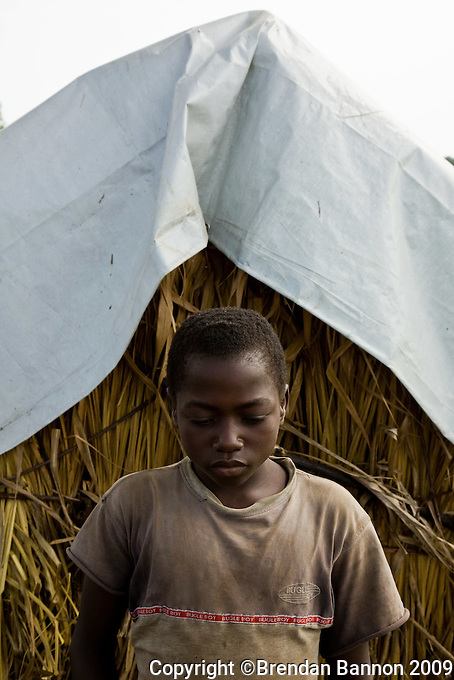 Mokiki Pasi Tandema, 14 years old, was kidnapped by the LRA  in Congo and spent weeks in thier camps as a servant.
