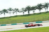 Spanish Fernando Alonso on Ferrari F2012.24/03/2012 Grand Prix Malesia, Sepang , Essais..Foto Insidefoto  /Bernard Asset / Panoramic.ITALY ONLY..