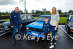 At the Ballymac Vintage rally fundraiser Help Rosie Bloom on Sunday, l to r: Brian Glover, Kian O'Connor and Anna Moloney