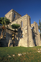 church, Bermuda, St. George's Parish, Unfinished church in St George in Bermuda.