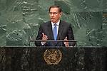 DSG meeting<br /> <br /> AM Plenary General DebateHis<br /> <br /> <br /> His Excellency Martin Vizcarra Cornejo, President, Republic of Peru