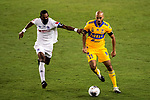 Guido Pizarro of Tigres UANL (MEX) in action against CD Olimpia (HON) during their CONCACAF Champions League Semi Finals match at the Orlando's Exploria Stadium on 19 December 2020, in Florida, USA. Photo by Victor Fraile / Power Sport Images