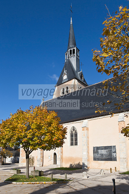 Europe/France/Centre/41/Loir-et-Cher/Sologne/Chaumont-sur-Tharonne: L'église Saint-Étienne  // Europe/France/Centre/41/Loir-et-Cher/Sologne/Chaumont-sur-Tharonne: Saint-Étienne Church