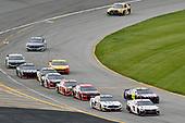 #11: Denny Hamlin, Joe Gibbs Racing, Toyota Camry FedEx Express and #2: Brad Keselowski, Team Penske, Ford Mustang Miller Lite
