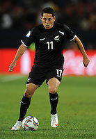 Leo Bertos of New Zealand. Iraq and New Zealand tied 0-0 during the FIFA Confederations Cup at Ellis Park Stadium in Johannesburg, South Africa on June 20, 2009..