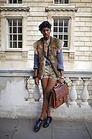 London Fashion Week Street Style Photographs September 2010