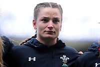 Jasmine Joyce of Wales during the Women's Six Nations match between Wales and Ireland at Cardiff Arms Park, Cardiff, Wales, UK. Sunday 17 March 2019
