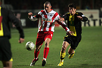 Leon Andreasen (FSV Mainz 05) greift an