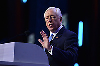Washington, DC - March 1, 2020: U.S. Representative Steny Hoyer addresses attendees of the AIPAC Policy Conference at the Washington Convention Center March 1, 2020.  (Photo by Don Baxter/Media Images International)