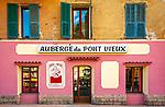 Frankreich, Provence-Alpes-Côte d'Azur, Sospel in den franzoesischen Seealpen: Hotel Auberge du Pont Vieux | France, Provence-Alpes-Côte d'Azur, Sospel in the French Maritime Alps: hotel Auberge du Pont Vieux