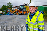 Freddie Bartlett, County Supervisor of Water services in the Kerry County Council on site at the Lisloose Reservoir, in Tralee on Friday morning.