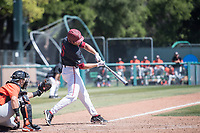 STANFORD, CA - MAY 29: Grant Burton during a game between Oregon State University and Stanford Baseball at Sunken Diamond on May 29, 2021 in Stanford, California.