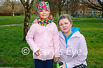 Enjoying a stroll in the Tralee town park on Saturday, l to r: Amelia and Monica Paczuska.