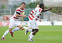 ::  HAMILTON'S NIGEL HASSELBAINK CELEBRATES AFTER HE SCORES THE FIRST  ::