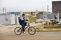 Inupiaq eskimo native village Utqiagvik (Barrow), Alaska.