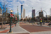 Centennial Olympic Park and Westin Tower, Atlanta, Georgia
