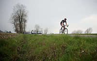 Alex Kirch (LUX/Cult) leading the race<br /> <br /> Handzame Classic 2015