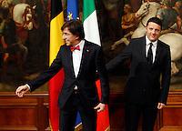 20140228 ROMA-ESTERI: RENZI INCONTRA I CAPI DEI GOVERNI DI ROMANIA, AUSTRIA, MALTA E BELGIO