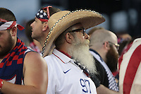 Foxborough, Mass. - Friday, July 10, 2015: The US Men's National team defeat Haiti 1-0 during group play action in the 2015 Gold Cup at Gillette Stadium.
