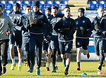 St Johnstone Training….26.01.18<br />Steven MacLean and Stefan Scougall pictured during a training session at McDiarmid Park this morning ahead of tommorrow's game against Partick Thistle.<br />Picture by Graeme Hart.<br />Copyright Perthshire Picture Agency<br />Tel: 01738 623350  Mobile: 07990 594431