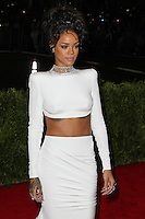 """NEW YORK CITY, NY, USA - MAY 05: Rihanna at the """"Charles James: Beyond Fashion"""" Costume Institute Gala held at the Metropolitan Museum of Art on May 5, 2014 in New York City, New York, United States. (Photo by Xavier Collin/Celebrity Monitor)"""