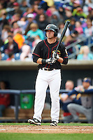Quad Cities River Bandits left fielder Pat Porter (31) during a game against the Burlington Bees on May 9, 2016 at Modern Woodmen Park in Davenport, Iowa.  Quad Cities defeated Burlington 12-4.  (Mike Janes/Four Seam Images)