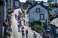 up the famous Côte de Saint-Roch during a 2nd passage through Houffalize<br /> <br /> 17th Benelux Tour 2021<br /> Stage 6 from Ottignies/Louvain-la-Neuve to Houffalize (BEL/208km)<br /> <br /> ©kramon